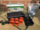 Thermostatically Controlled Shelled Warriors Growing Kit ( windowsil propagator, seeds and soil )- FREE POSTAGE